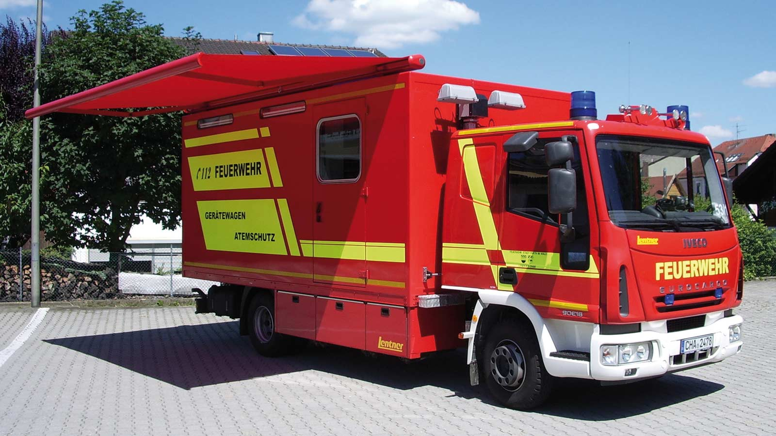 Lentner Gerätewagen - GW-L1 & GW-L2 Gerätewagen-Logistik