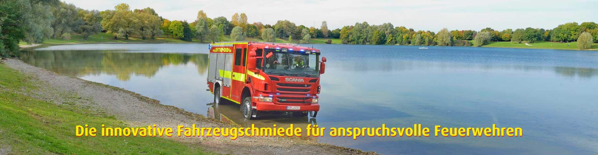 Lentner für anspruchsvolle Feuerwehren