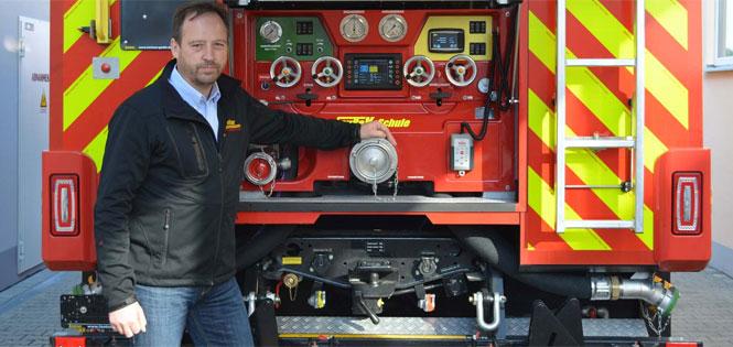 Mathias Hausmann, owner and CEO of Lentner